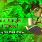 Point of View- Story Elements Power Point With A Jungle Theme