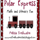 Polar Express Math and Literacy Fun