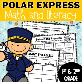 Polar Express Printables Worksheets Booklets Seatwork Center