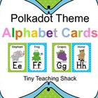 Polka Dot Alphabet Cards