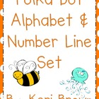 Polka Dot Alphabet and Number Line