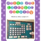 Polka Dot Calendar Display Pack