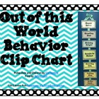 Polka-Dot & Chevron Behavior Clip Chart FREEBIE