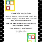 Polka Dot News Letter Templates