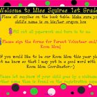 Polka Dot Smart Board Page for First Day of School
