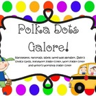 Polka Dot Themed Classroom Items