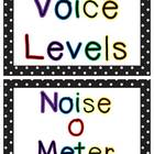 Polka Dot Voice Level posters