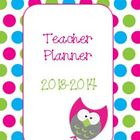 Polka Dots and Owls - Teacher Planner Pages