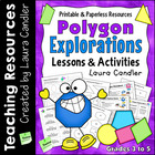 Polygon Explorations (4th and 5th Grade Geometry)