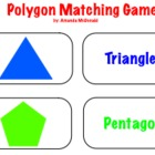Polygon Matching Game