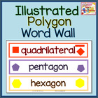 Polygon Word Wall - Illustrated