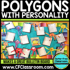 Polygons With Personality Common Core 3.G.1, 2.G.1, 1.G.1,