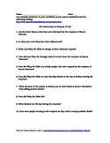Pompeii Primary Source Worksheet