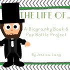 Pop Bottle & Mini Biography Book Project