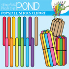 Popsicle Sticks Clipart / Graphics From the Pond