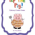Pop the Pig Literacy Center Game