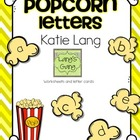Popcorn Letters Worksheets