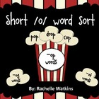 Popcorn Short /o/ Word Sort for Centers