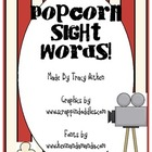 Popcorn Sight Word Game Dolch Words