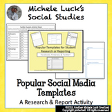 Popular Social Media Template Research or Report Tools for