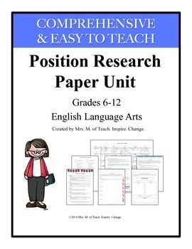 Research Paper Complete Unit
