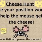 Position Word Game - Get the Cheese!
