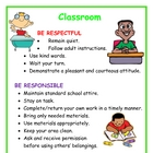 Positive Behavior Poster: Classroom