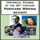 Postcard Writing Activity Between Famous Historical Figure