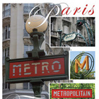 Poster to print 20 x 30: Paris Metro