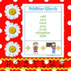 Posters: Addition and Subtraction Terms