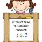 Posters- Ways to Represent a Number