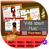 Music Posters - music appreciation - Wild About Music!