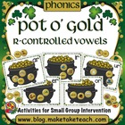 Pot O' Gold- R-Controlled Vowels