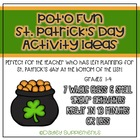 Pot O'Ideas - Cooperative Games & Activities - St. Patrick