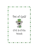 Pot of Gold CVC and CVCe Words