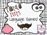 Potato Peeps Language Games!