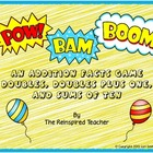 Pow! Bam! Boom! Addition Card Game