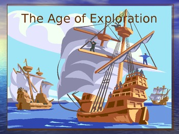 Power Point   102 slide  Age of Exploration