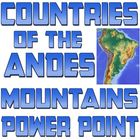 Power point: Geography of Andean Mountains