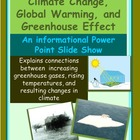 Climate Change, Global Warming and The Greenhouse Effect