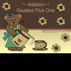 "PowerPoint, Math ""Doubles Plus One"" in Addition Concept"