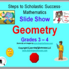 PowerPoint Slide Show - Geometry for Grades 3 - 4