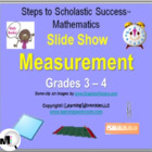 PowerPoint Slide Show - Measurement for Grades 3 - 4
