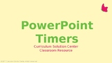 PowerPoint Timers {Countdown, Timer, Presentation, Clock,