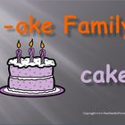 "PowerPoint for ""The -ake Family!"" Word Work / Phonics / Sp"