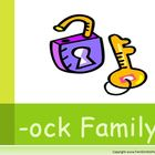 "PowerPoint for ""The -ock Family!"" Word Work / Phonics / Sp"