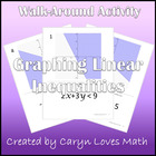 Practice Graphing Linear Inequalities - Walk-around Activity