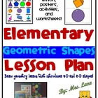 Pre-K & Kinder Geometric Shapes Lesson Plan