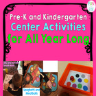 Pre-K and K Center Activities