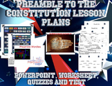 Preamble to the Constitution Lesson Plan